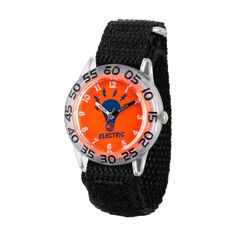 Boys' Discovery Channel Clear Plastic Time Teacher Watch - Black