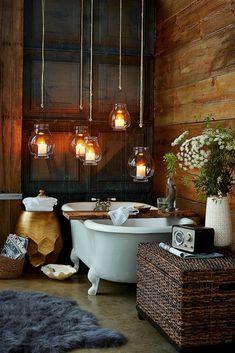 This bathroom is magical. Amazing bathroom decor ideas. Great storage ideas. #ad #bathroom #restroom #bath #storage #storageideas #bathroomdecorideas #decorideas