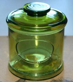 Riihimäen lasipurkki, tämä tai kapea malli, mikä vain väri :)