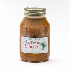 Luck Bean Soup - Looking for a little bit of luck? Try some of this.