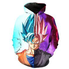 Master Goku vintage Hoodie con Cappuccio Pullover dragonball son Z Roshi/'s Goku