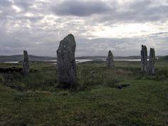 Craigh na dun (stone circle featured in Outlander by Diana Gabaldon)