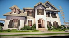 Image result for minecraft suburban house