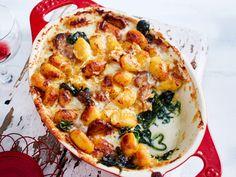 Gnocchi mit Schweinefilet und doppelt Käse? Gefällt uns! #käseauflauf #gnocchiauflauf #auflauf
