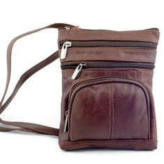 Goson Genuine Leather Organizer Womens Crossbody Bag - http://leather-handbags-shop.com/goson-genuine-leather-organizer-womens-crossbody-bag/