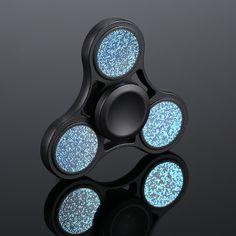 Double Spinner 2 en 1 Métal Fidget Main Jouet Doigt Poche Enfants Bureau Focus UK sel