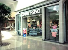 County Seat was in the Ohio Valley Mall - LOVED this store!