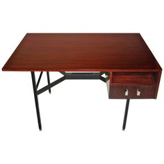 Partners Desk by Gerard Guermonprez Made in France, circa 1950