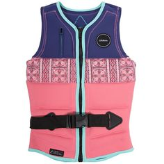 "Ladies, we know you're tired of repackaged pink colored products labeled as women's pro models. Thankfully the Follow Lace Pro Impact Wakeboard Vest has been manufactured with a ladies' slim pro fit and is the vest of team rider Angelika Schriber. As the athlete who snagged the title of ""Female Cable Rider of the Year"" for four years in a row (2010-2013), we're pretty cool with that."