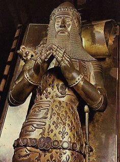 Tomb of Edward The Black Prince (1330-1376), Canterbury Cathedral