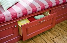 Build in Storage: Drawers