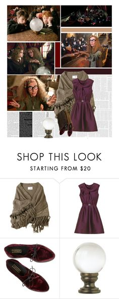 """Divination"" by lejournaldessecrets ❤ liked on Polyvore featuring Mulberry, Universal Lighting and Decor, harrypotter, book, film, books and films"