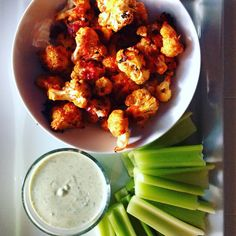 Everyone needs a fun and easy app recipe in their back pocket when it comes to summer gatherings and picnic parties and such. I love the v... Dairy Free Sauces, Picnic Parties, Buffalo Cauliflower, Foods With Gluten, Egg Free, Spicy, Vegetables, Ethnic Recipes, Ranch