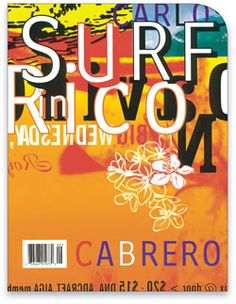 David Carson | American graphic designer, art director and surfer. Known for his innovative magazine design & experimental typography.