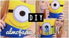 DIY :: Almofada dos Minions   Projeto DIY