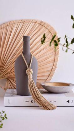 Diy Tassel Garland, Tassels, Diy Home Crafts, Clay Crafts, Curtain Tie Backs Diy, Diy Furniture Decor, Macrame Projects, Boho Diy, Creative Decor