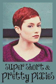 A BEAUTIFUL LITTLE LIFE: Super Short & Pretty Pixie Cuts!