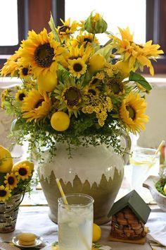 Manual Farmhouse Sunflowers and Birds Brt-60x50 Fleece Throw