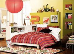 attractive teenage girls decor room ideas