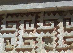 Mitla Site Wall Decoration, Zapotec, Oaxaca