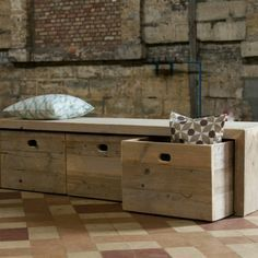 Wood bench bench with storage chest wooden storage bench with 700 X 700 pixels Source by cedrictissot Wooden Storage Bench, Storage Bench Seating, Box Storage, Cheap Storage, Window Benches, Into The Woods, Wooden Furniture, Custom Furniture, Decoration