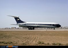 The Vickers VC-10 a British airliner designed to operate on long distance international routes. The primary operator was BOAC. Many were later converted and remain in service today as aerial refuelling and transport aircraft for the RAF