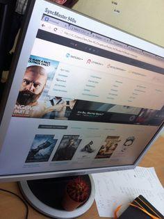 Movies online UI by Den Lixunoff, via Behance