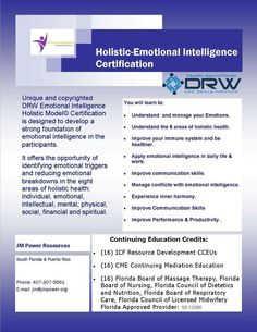 Next Course February 21 and 22 in South Florida. Contact me for details and register online at www.jmpower.org
