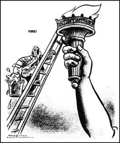 'McCarthyism', by Herb Block, Washington Post, March 4th, 1954.