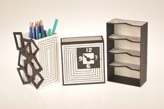 """Trabajos de la materia de """"Forma y percepción"""" de las carreras de Diseño Gráfico e Industrial"""
