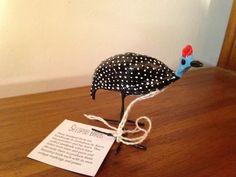 Seedpod Guinea Fowl - A Handcrafted Fair Trade Product Guinea Fowl, Seed Pods, Fair Trade, Hand Painted, Handmade, Hand Made, Craft, Handarbeit