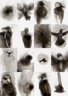 Spazuk // art made from the soot of a candle