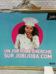 #Publicité #Engagement #WeWantYou #Jobijoba #Sémiologie