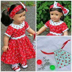 American Girl Doll . . JACKS & BALLS Heritage by TallulahSophieToo, $40.00