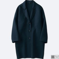 wool chesterfield coat - Lemaire for Uniqlo #coat #woolcoat #uniqlo #lemaire #affiliatelink