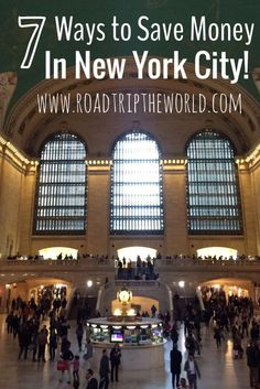 7 Fun ways to save money while visiting New York City. A visit here can be expensive but you don't have to blow your budget! Read through to learn how.