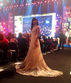 Mariam Bachir dazzled in Yolan Cris at #IIFA2016.  #IIFAAwards #Bollywood #cinema #actress #celebrity #celebritystyle #redcarpetlook #MariamBachir