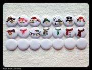 Rakenna oma lumiukko :) Tää on ihan mahtava, paketissa siis kolme supermagneettia mitkä voit itse valita ja näistä rakentuu lumiukko :)
