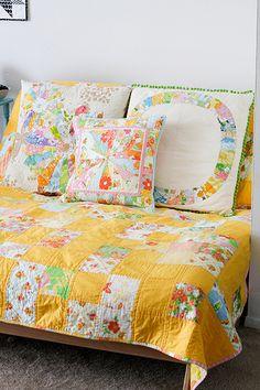 Vintage Summer | 127:365 Dressed up the futon for summer! | By: Jeni Baker | Flickr - Photo Sharing!