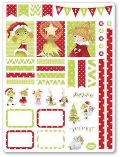 Christmas Grouch ... added to the shop! View/purchase at http://www.plannerpenny.com/products/christmas-grouch-decorating-kit-weekly-spread-planner-stickers?utm_campaign=social_autopilot&utm_source=pin&utm_medium=pin