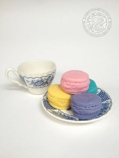 Soapy Macaroons by myluckydragon on Etsy, $4.00
