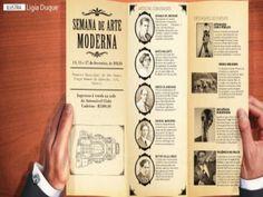 Semana da Arte Moderna ocorreu em São Paulo de 11 a 18 de  fevereiro de 1922, no Teatro Municipal. Prof. Altair Aguilar