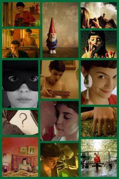 Amelie - a wonderfully whimsical movie. Always cheers me up.