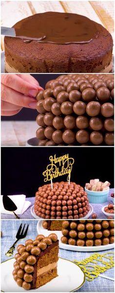 Receita deliciosa de bolo de chocolate com coberta crocante! #bolodechocolate #coberturacrocante#comida #culinaria #gastromina #receita #receitas #receitafacil #chef #receitasfaceis #receitasrapidas