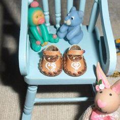 Dollhouse shoes baby esc 1/12