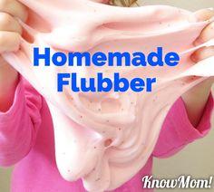Homemade Borax Free Flubber!