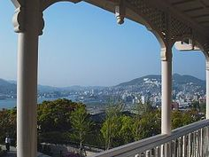 Glover Garden, Nagasaki - open air museum of mansions of former western residents- plus nice view of city
