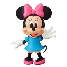 Mickey Mouse Nendoroid Minnie Mouse Non-Scale Painted Action Figure New / Cute Polymer Clay, Polymer Clay Projects, Clay Crafts, Sah Biscuit, Minnie Y Mickey Mouse, Fondant Animals, Clay Figurine, Fondant Toppers, Mickey And Friends