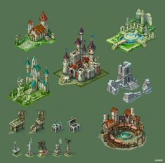 Buildings for game 4 by Jonik9i.deviantart.com on @DeviantArt