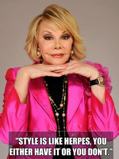 Joan is turning 80 — and she's never been funnier or more amazing.